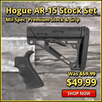 Hogue AR-15 /M16 Stock Set