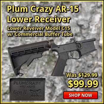 Plum Crazy AR-15 Complete Lower Receiver